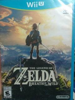 Juego Wii U Zelda Breath Of The Wild - Nuevo Sellado