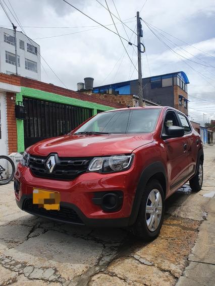 Hermoso Renault Kwid Modelo 2020, 5400 Km, Rojo Fuego