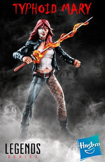 Typhoid Mary. (marvel Legends) Hasbro. 2017. Sin Baf.