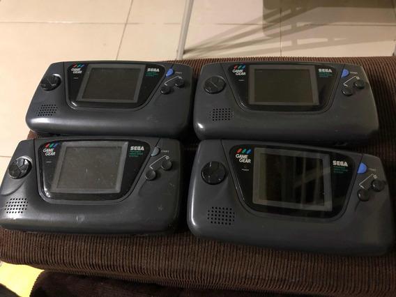 Lote Game Gear 4 Aparelhos Com O Mesmo Defeito
