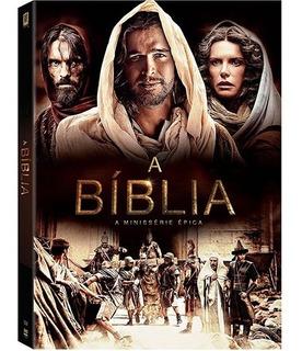 Dvd A Bíblia A Minissérie Épica Original Lacrado Frete 16,00