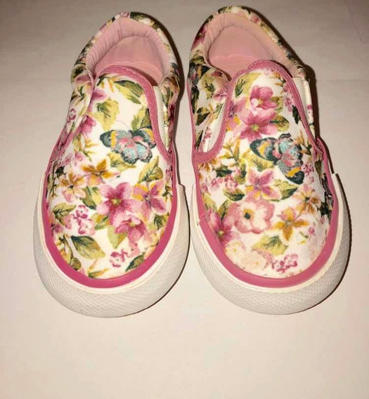Panchas Floreadas Mini Mimo Talle 20