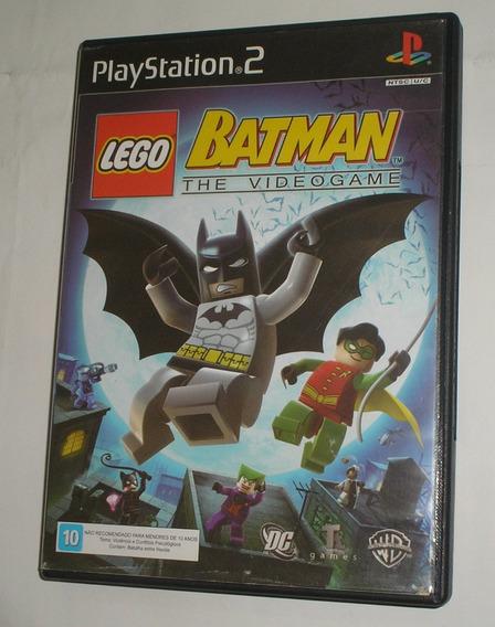 Lego Batman The Vídeo Game Ps2 Original Usada