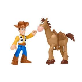 Bonecos Basicos - Imaginext - Toy Sotry - Woody E Bala No Al