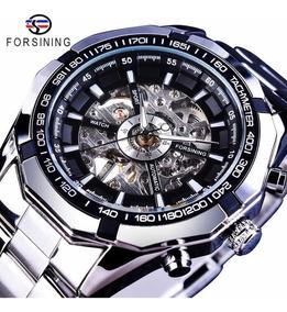Relógio Forsining Automático A Corda Na Caixa Importado