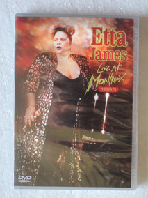 Dvd Etta James Live At Montreux 1993 Original Lacrado!!