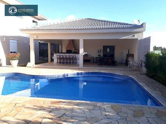 Casa Com 4 Dormitórios À Venda, 392 M² Por R$ 1.550.000 - Terras De São Carlos - Jundiaí/sp - Ca3169