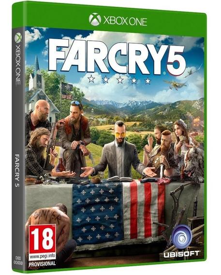 Jogo Far Cry 5 Xbox One Midia Fisica Original Novo Nacional