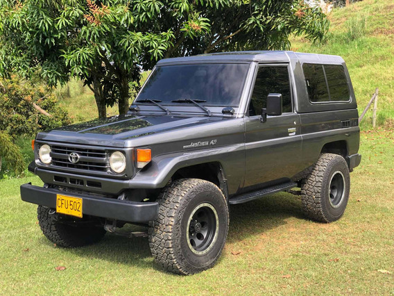 Toyota Land Cruiser Fzj75 Mt 4500cc Blindaje Ii Plus