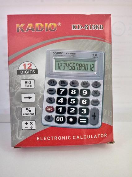 Calculadora Kadio Kd-8188b C/ Nota Fiscal