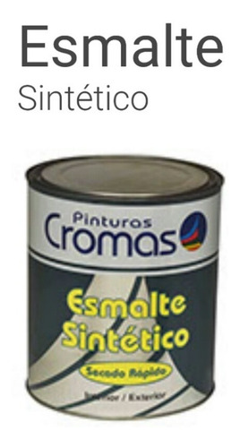 Pintura Esmalte Sintetico Azul De 1 Galon Cromas Clase A