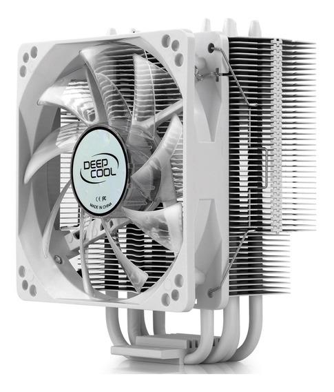 Cooler Para Processador Intel/amd Deepcool Gammax Led Branco