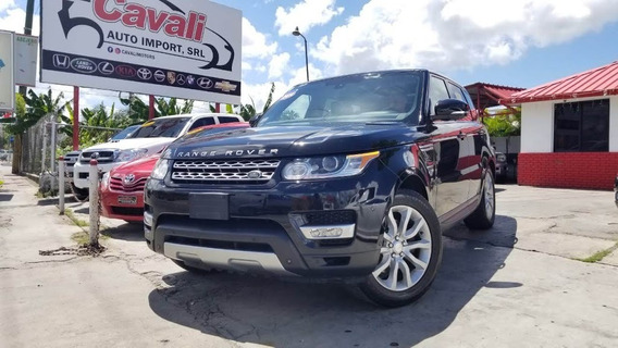 Land Rover Range Rover Sport Spuercharged V6 Negra 2015