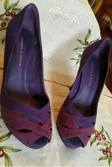 Zapatos De Mujer Diseño - Charles & Keith Talle 38