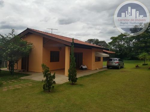 Chacara Em Indaiatuba Bairro Recanto Campestre Viracopos Com 2 Dormitorios, Sala, Cozinha, Banheiro, Varanda E Ótimo Terreno - Ch00003 - 67748661