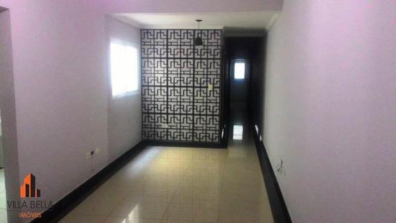 Apartamento Com 3 Dormitórios, 89 M² - Venda Por R$ 420.000,00 Ou Aluguel Por R$ 1.700,00/mês - Vila Pires - Santo André/sp - Ap4529