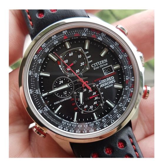 Relógio Citizen Red Arrows At8060-09e Usado Excelente Estado