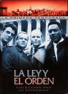 La Ley Y El Orden Temporada 1 Completa Boxset 6 Dvd Original