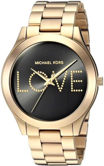 Relógio Pulso Feminino Michael Kors Aço Dourado Mk3803
