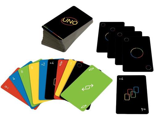 Baralho Mattel Games Jogo De Cartas Minimalista Uno Gyh69