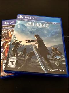 Final Fantasy Xv Ps4 Blu Ray Físico. Vendo O Permuto.