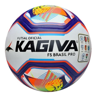 Bola Futsal Profissional Kagiva F5 Brasil Pro Original