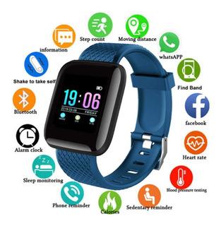 2 Smartwatch Relógio Inteligente D13 Preto