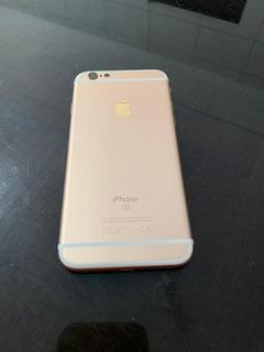 Carcaça iPhone 6s Dourado Com Flex De Botões