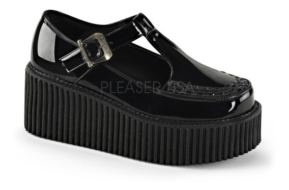 Zapatos Dark Alternativo Rock Punk Demonia Creeper 214