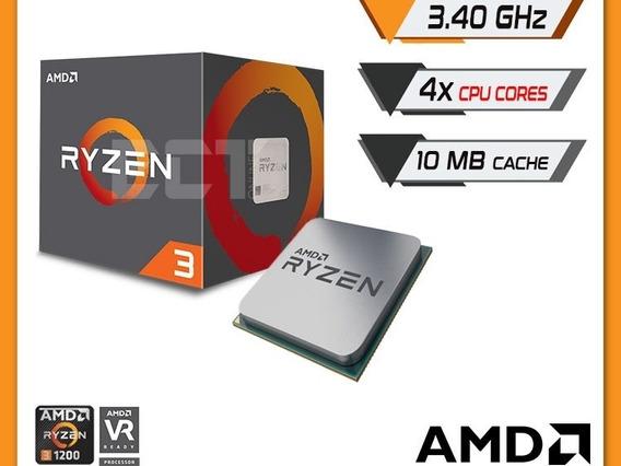 Amd Ryzen 3 1200 Processador Am4 3.4ghz Com Wraith Cooler