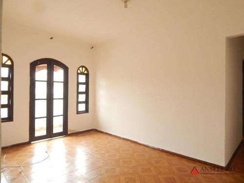 Casa Com 3 Dormitórios Para Alugar, 160 M² Por R$ 2.500,00/mês - Jardim Do Mar - São Bernardo Do Campo/sp - Ca0561
