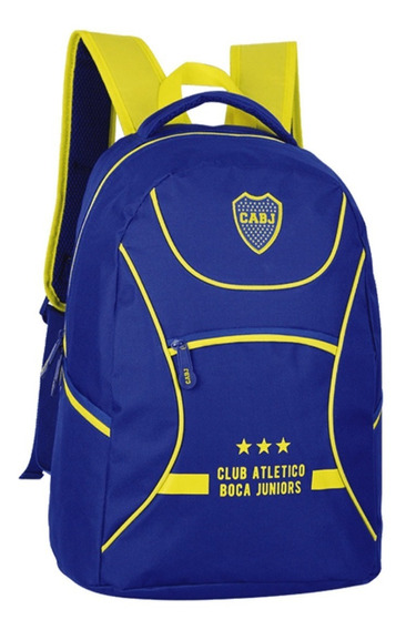 Mochila Boca Juniors 18 Producto Con Licencia Oficial