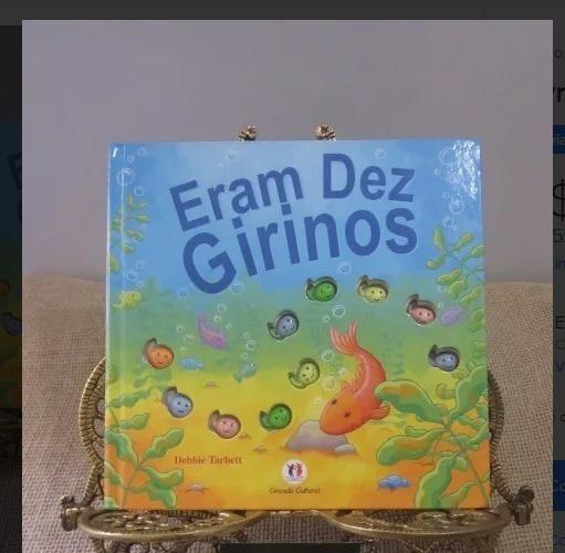 Livro Eram Dez Girinos