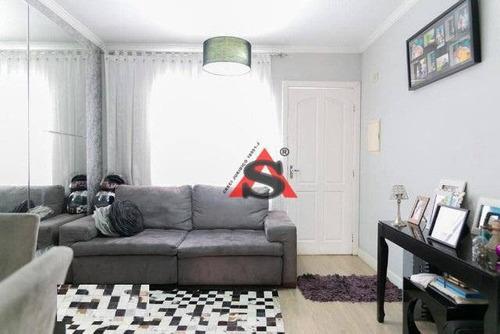 Sobrado Com 3 Dormitórios À Venda, 115 M² Por R$ 480.000,00 - Vila Caraguatá - São Paulo/sp - So5258