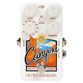 Pedal Electro Harmonix Canyon Delay & Looper Frete Grátis