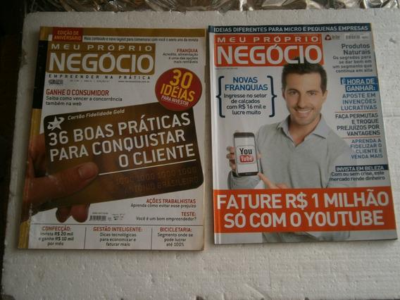 17 Revistas Meu Proprio Negocio Por R$ 20,00