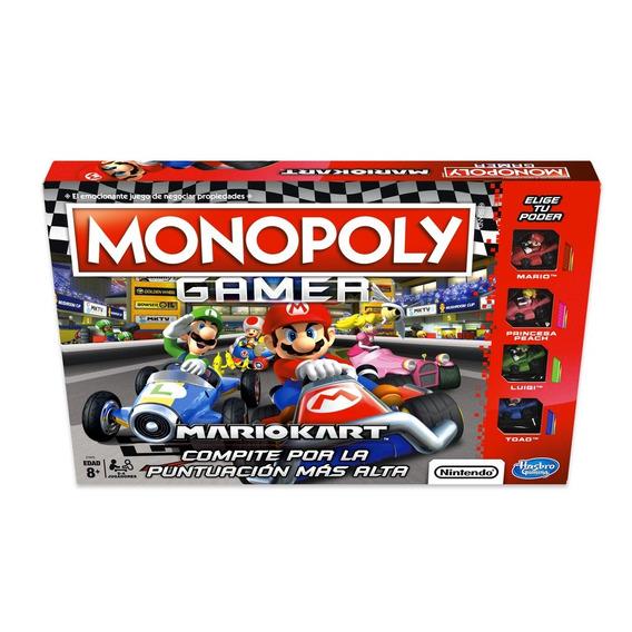 Juego Monopoly Gamer Mariokart