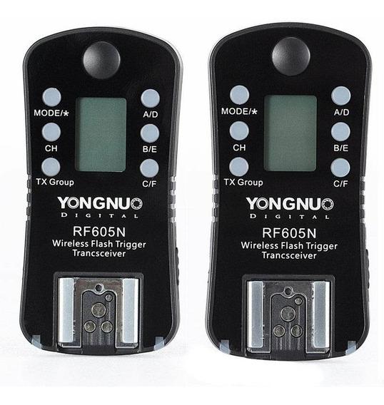 Radio Flash Yongnuo Rf 605 Nikon D5500 D7200 D3400 Rf605