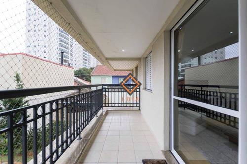 Apartamento Com 3 Dormitórios À Venda, 140 M² Por R$ 1.070.000,00 - Ipiranga - São Paulo/sp - Ap37279