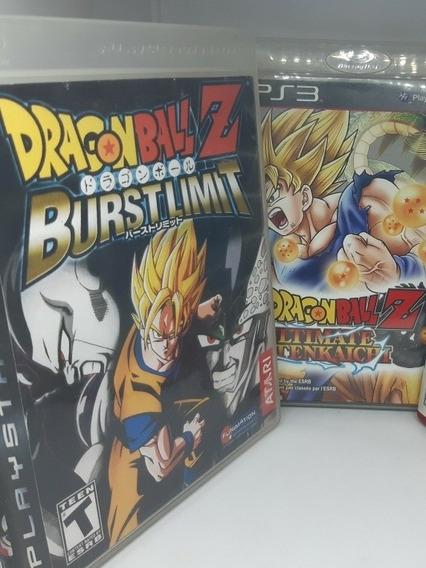 Kit Dragon Ball Ps3 Midia Fisica Raro