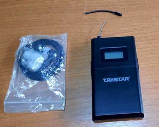 Takstar Wpm 200r Auricular Receptor In Ear Intraural Uhf