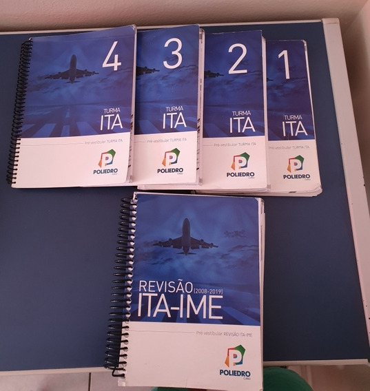 Livros Preparação Ita Ime 2019 - Poliedro