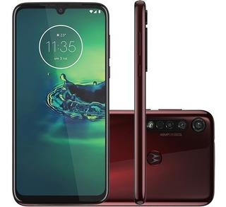 Smartphone Motorola Moto G8 Plus / Cereja /4gb De Ram 6.3