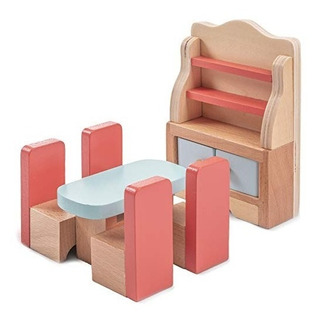 Deslumbrante Juego De Muebles De Comedor De Madera Para Casa