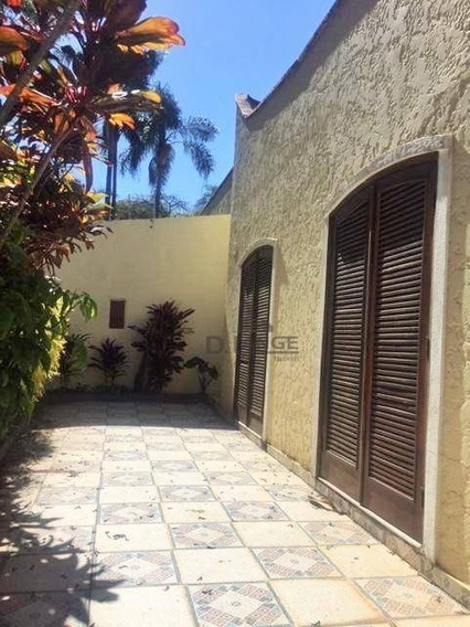 Casa Com 3 Dormitórios Para Alugar, 350 M² Por R$ 3.900,00/mês - Jardim Das Paineiras - Campinas/sp - Ca13313