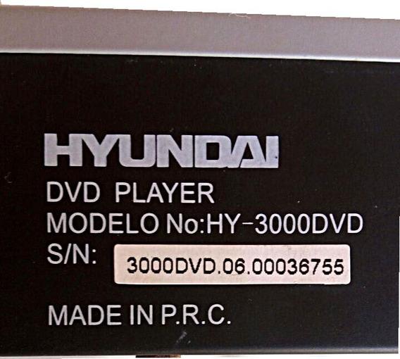 Dvd Player Hyundai Hy-3000dvd 5.1ch (p/ Retirada De Peças)