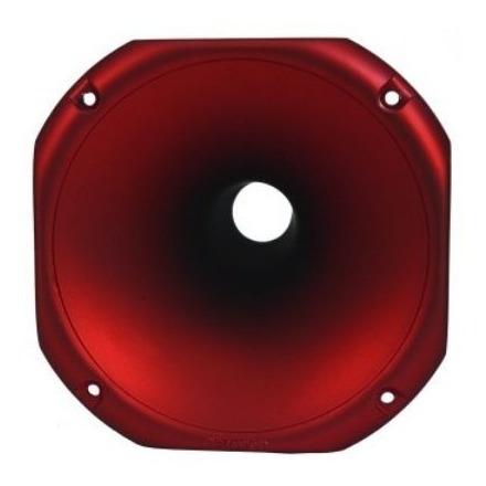 Corneta Tiro Longo Redonda Fiamon 1425 Vermelho Fosco