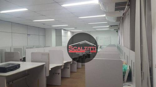 Conjunto Para Alugar, 212 M² Por R$ 4.500,00/mês - República - São Paulo/sp - Cj1079