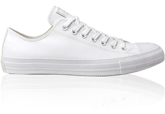 Tênis Converse Chuck Taylor All Star Couro Ct0826 Branco