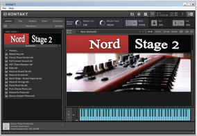 Nord Stage 2 Library + Kontakt 6.0.3